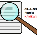 How To Get Name Wise Results Of AIEEE 2012