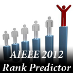Rank Predictor For AIEEE 2012 According To CBSE