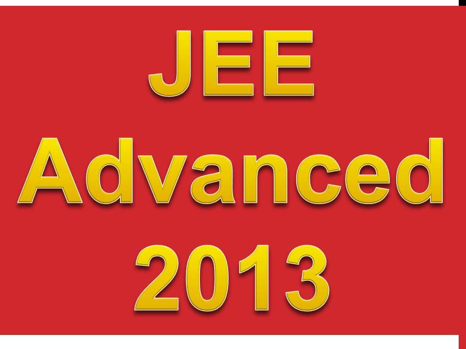Jee advance 2013 , Jee advance 2013 application form , Jee advance 2013 fee , v form fee