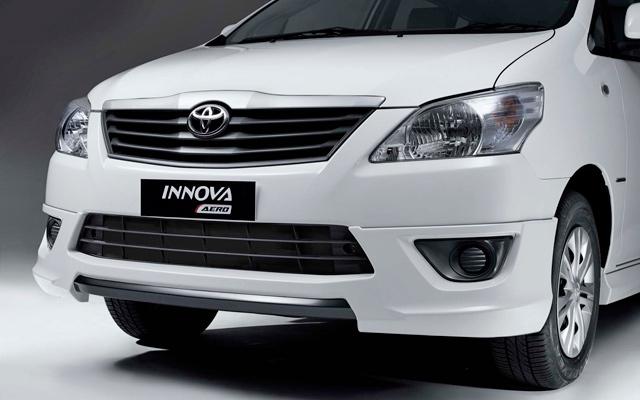 All New Toyota Innova 2014 White