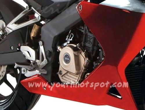 New Bajaj Pulsar 200SS , Official Pictures and Images , engine