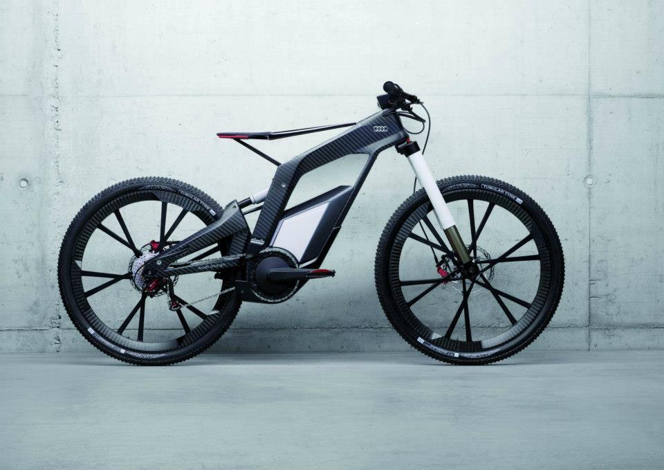 E-Tron Spyder Bike , Audi