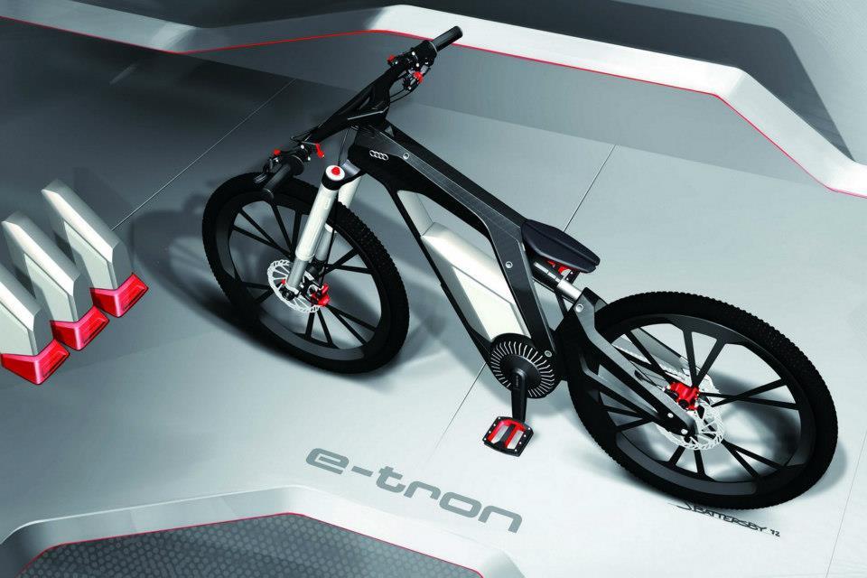 E-Tron Spyder Bike by Audi