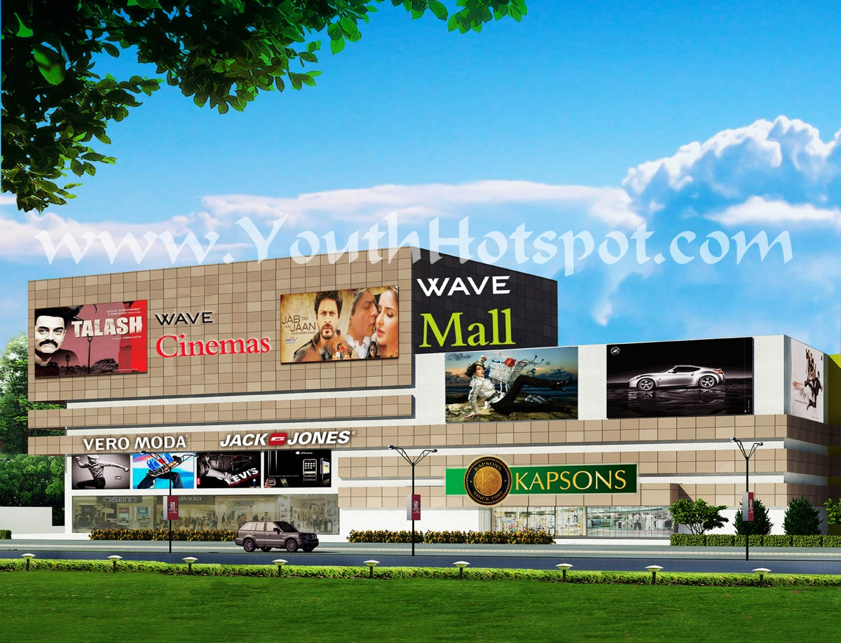 Wave Mall , Jammu , First Image , Rough Sketch