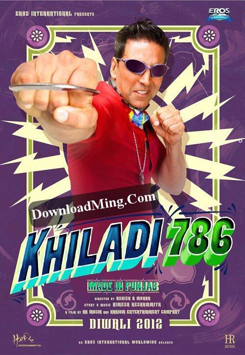 Official Poster & Promo Video of Akshay's Khiladi 786 (2012)