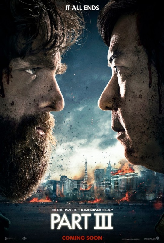 Poster , official , poster Hangover 3 , hangover 3