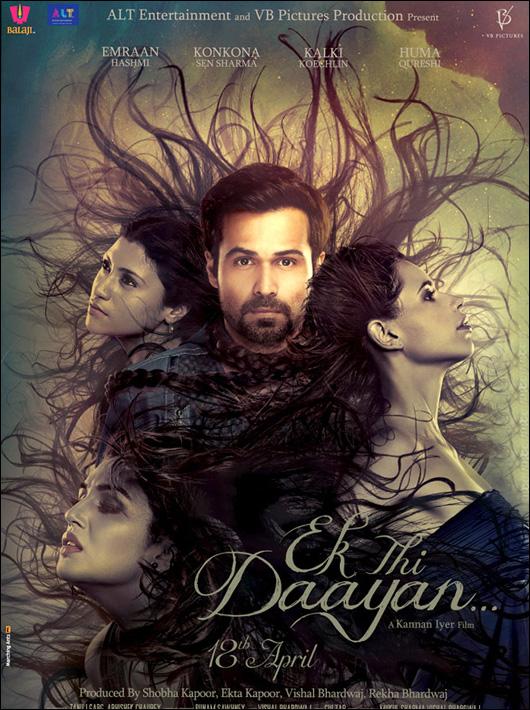 Ek Thi Daayan , Ek Thi Daayan poster , new poster Ek Thi Daayan , official poster Ek Thi Daayan , emraan hashmi , Ek Thi Daayan official poster