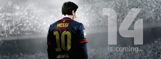 Fifa 14 poster, logo , pic