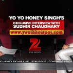 Yo Yo Honey Singh's Interview with Sudhir Chaudhary | Full Video