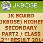 jkbose 12th class results 2014 are out find your result name wise ans roll no wise