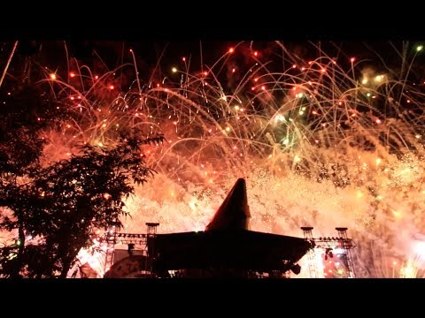 Disney Hollywood Studios 25th anniversary fireworks at Walt Disney World